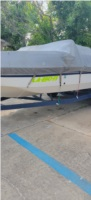 96 galaxie deck boat  boat  Lettering from Lynnette M, LA