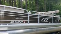 Sun Tracker Pontoon 2021 Boat Lettering from Ernst K, NC