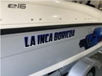 2019 Bayliner Element E16 Boat Lettering from Miguel O, FL