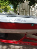 Sting ray 190lx Boat Lettering from James H, KS