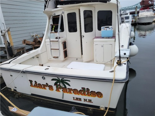 1989 Luhrs 320 Tournament  from David R, NH