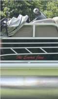 2021 SunTracker  Boat  Lettering from Beth D, KY