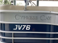 2018 Cypress Cay Cozumel Pontoon boat Lettering from Joel H, IN