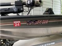 2005 bass tracker  Boat  Lettering from Paul  M, TN