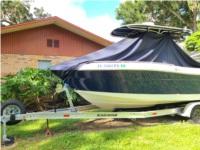 Robalo R222 Boat Lettering from Derek D, FL