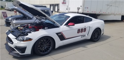 2019 Ford Roush superchargerd Mustang  Roush Mustang,  used for weekend racing  Lettering from John S, SC