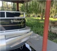 SunTracker 18' Bass Buggy Pontoon Boat aluminum siding  Lettering from Ginny M, FL