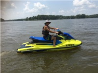 2021 Yahama EXDeluxe Wave Runner Lettering from Macie M, AL