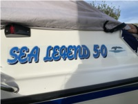 2005 WHITTLEY BOAT Lettering from mark j, VIC