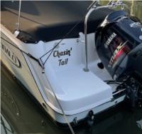 Robalo R227 2020 Boat Name Lettering Lettering from Elizabeth D, PA