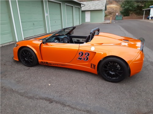 2014 Factory Five 8181S race car Factory Five 818S race car. Lettering from Carl E, OR