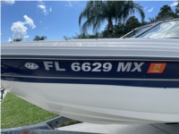 SeaRay 185  Boat Lettering from Sean G, FL
