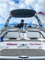 2019 Yamaha 240 Boat Lettering from ALICIA D, HI
