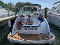 310 Formula Bowrider in blue Boat Lettering from Jenna B, NY