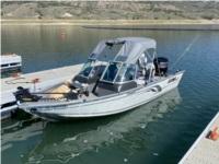 Alumacraft Voyaguer 175 Boat  Lettering from Robert L, CO