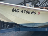 1980 Dell Quay 13 ft Dory Boat Lettering from Keith L, MI