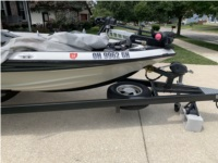 2000 ChampioN 191 Bass Boat Lettering from Steven S, OH