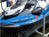 2021 Sea Doo 130 PWC Lettering from Chad G, WI