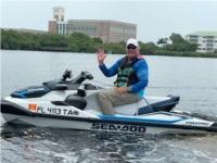 Sea Doo Fishpro PWC  Lettering from Martin P, FL