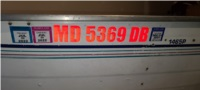 1997 Grumman 1465P Boat Lettering from Robert M, MD