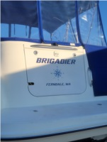 2006 Bayliner 265 Boat  Lettering from Darrin W, WA