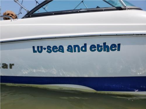 Nauticstar 203DC Boat Lettering from Doranne E, NC