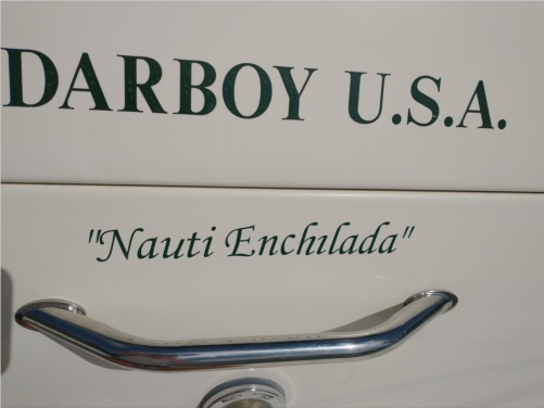 2000 Searay 310 Boat Lettering from Dean O, WI
