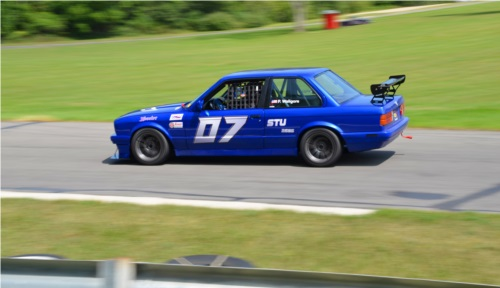 87 BMW 325is SCCA Club Racing Car Lettering from Patrick W, MI
