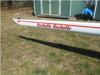 2006 Wintech 1X Rowing shell Lettering from Lowell H, AR