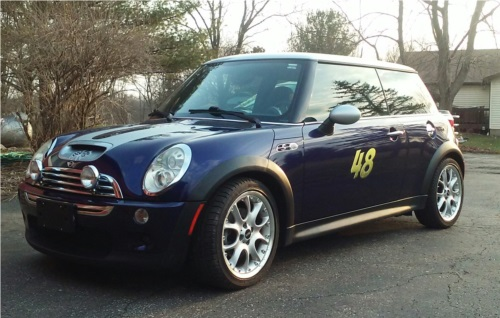 2006 Mini Cooper S Car Lettering from edward j, OH