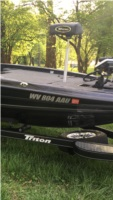 2018 Triton 19TRX Patriot Boat Lettering from Richard T, WV