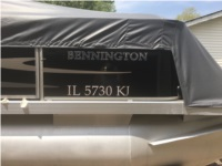 2001 Bennington 185L Boat Lettering from Ed S, IL