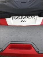 2018/Mastercraft/X23 A surf boat.  Lettering from Dan B, UT