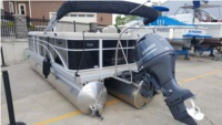 Bennington 21slx a new pontoon boat Lettering from Gerald K, MI
