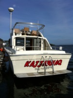 Beveled Boat Name
