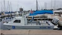 Custom Aluminum Boat Name