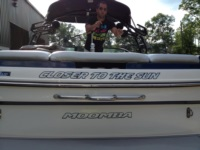 Moomba Boat Name Decal
