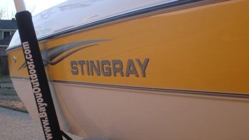 Stingray Replacement Domed Lettering At Domedlettering Com