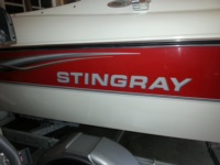 More Stingray Domed Lettering