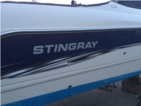 Stingray Domed Lettering