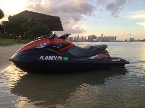 Waverunner boat numbers